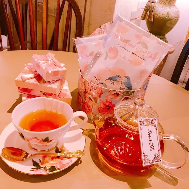 【フレーバーティー.紅茶】白桃アールグレイ