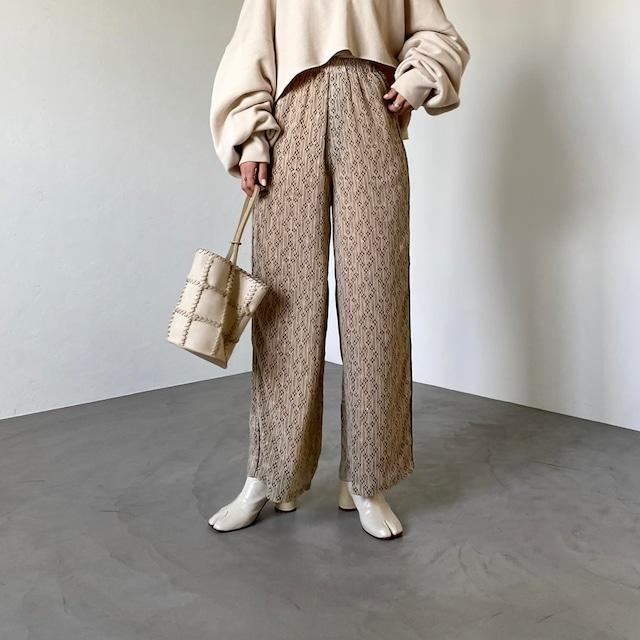 Side piping pattern PT/beige