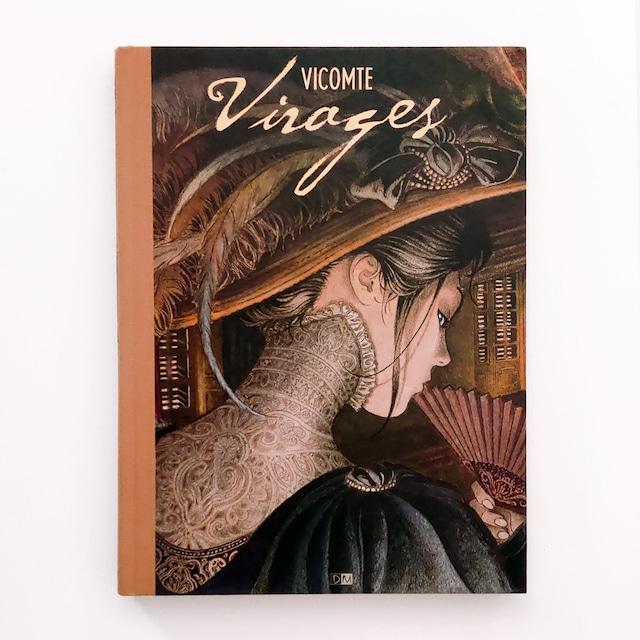 アートブック「Virages(ヴィラージュ)」バンドデシネ作家 Laurent Vicomte