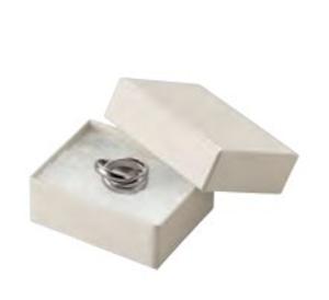 アクセサリー紙箱Sサイズ 白綿入りフリーケース 新色シリーズ 20個入り AR-RE87