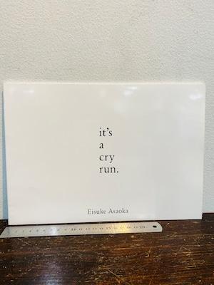 it's a cry run.    Eisuke Asaoka   朝岡英輔写真集