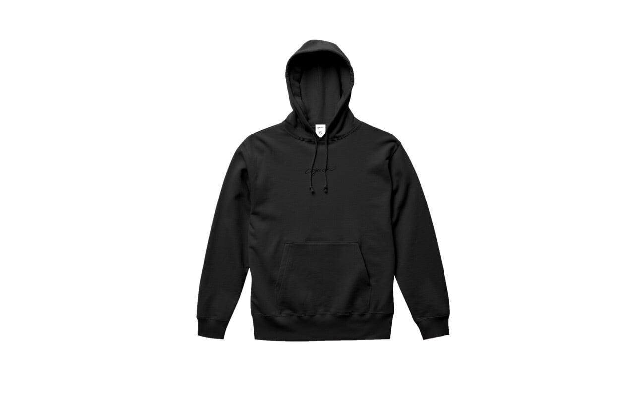 coguchi logo hoodie (bk/bk)