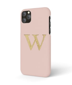 iPhone Premium Smooth Leather Case (Cotton Pink)