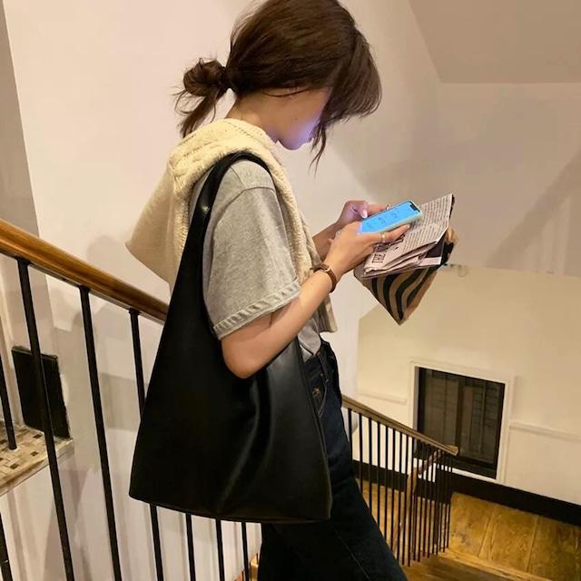 casual  shoulderbag(black)