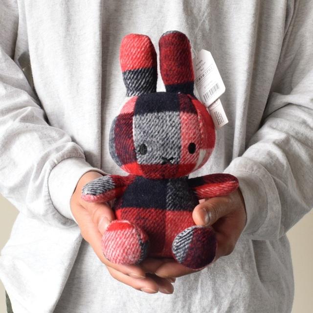 【BON TON TOYS】Miffy Check 23cm Red  【新発売】