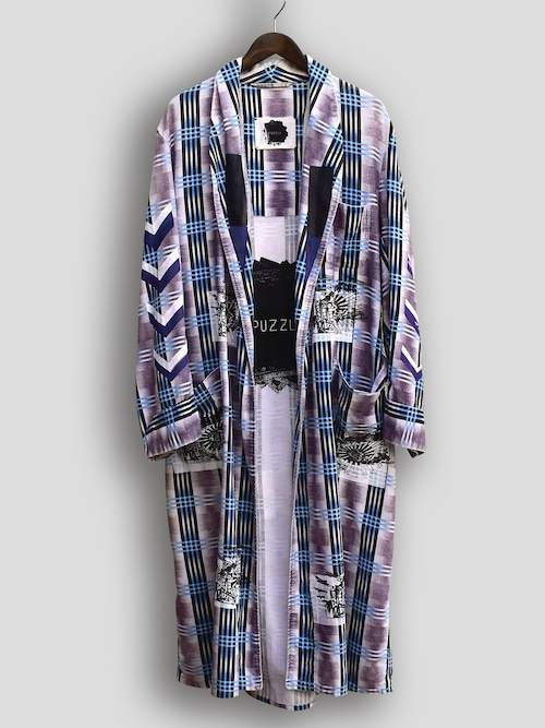 Re1031:CHECKED GOWN