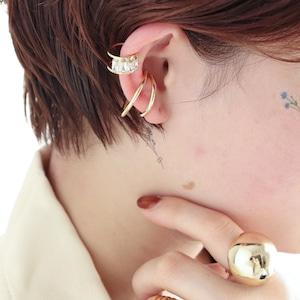 EAR CUFF || 【通常商品】 BLOSSOMS EAR CUFF SET A || 2 EAR CUFFS || GOLD || FBB060