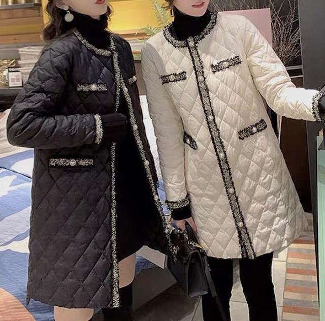 tweed co coat 2color