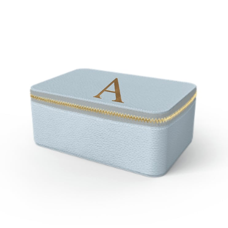 Box Premium Shrink Leather Case (Sky Blue)