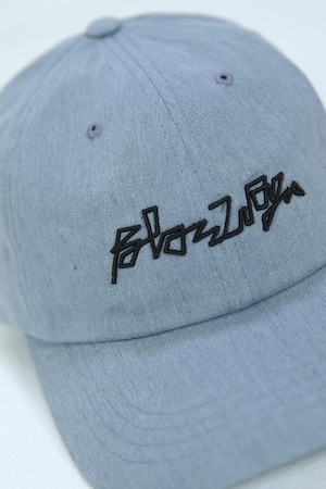 BLAZZ ELECTRONICS 3D Low Profile Cotton Cap [GRAY]