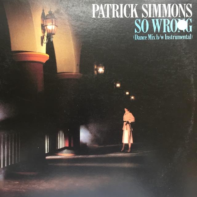 Patrick Simmons – So Wrong