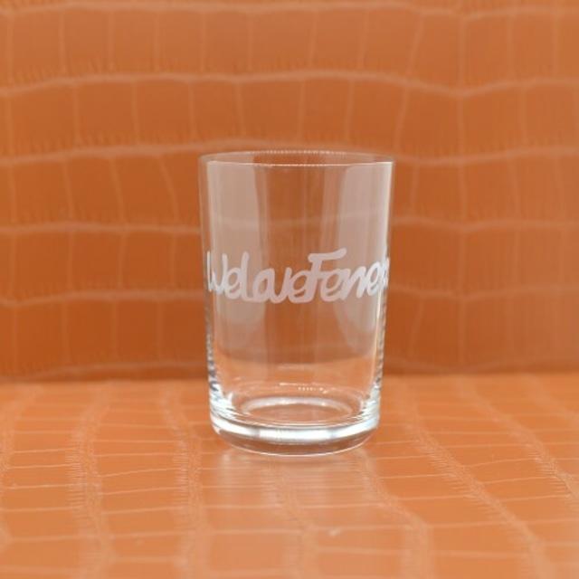 グラス(10) We Love Ferrets グラス (200ml) ※文字入れが可能です。