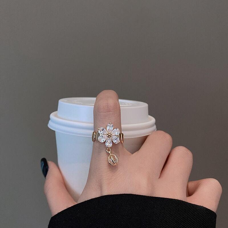Flower design ring【A1】