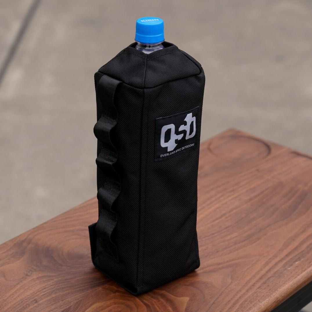 【 OSO 】 OVERLAND SPEC OUTDOORS Stealth bottle holder 期間限定!送料無料!