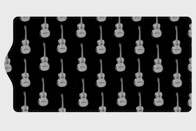 ギターのキーケース(黒)