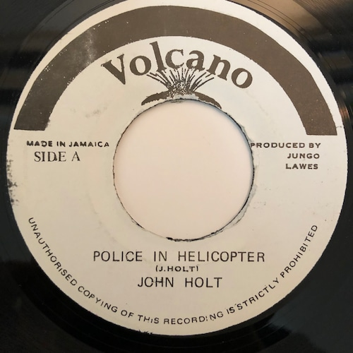 John Holt - Police In Helicopter【7-20364】