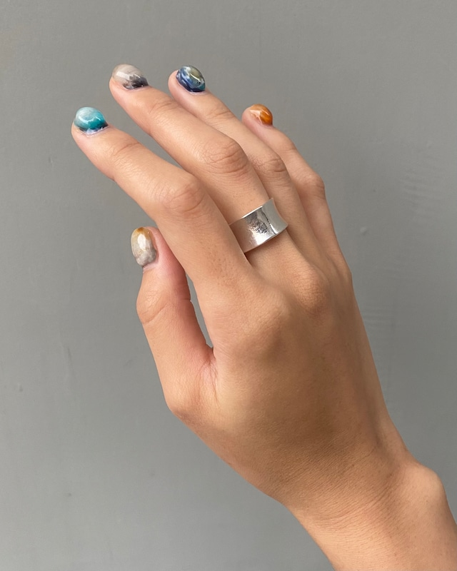Square ring / silver