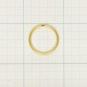 二重リング(三角縁)32mm G