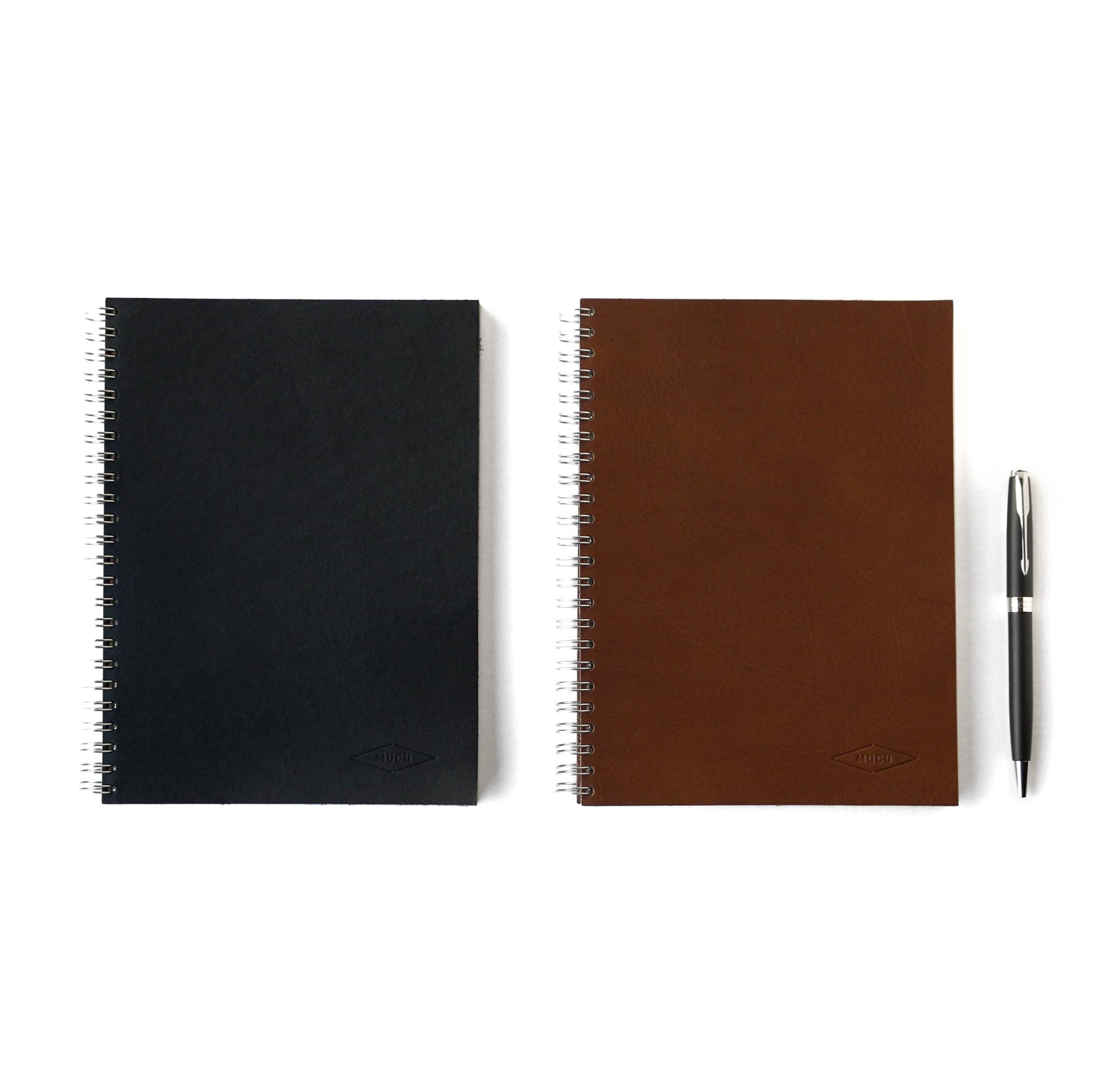 MUCU Leather Ringnote Lサイズ