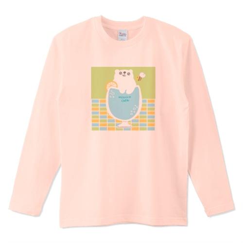 しろくまサイダー / 5.6オンスロングTシャツ (Printstar)