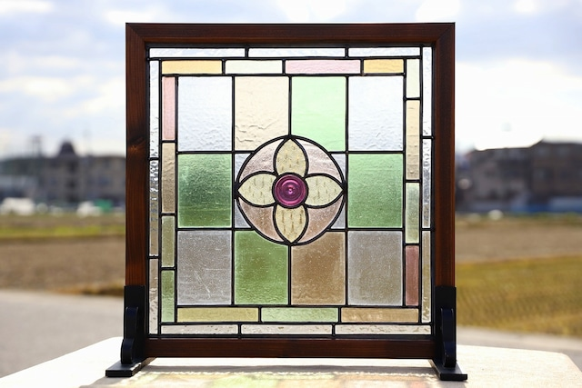 【ステンドグラス】ビクトリア時代のガラスを使用 SGM-024