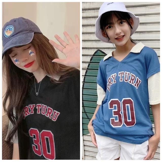 M~XL 2カラー★ Tシャツ カジュアル プルオーバー ボーイッシュ
