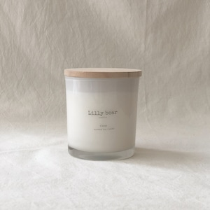 CLOVER/Classic soy candle