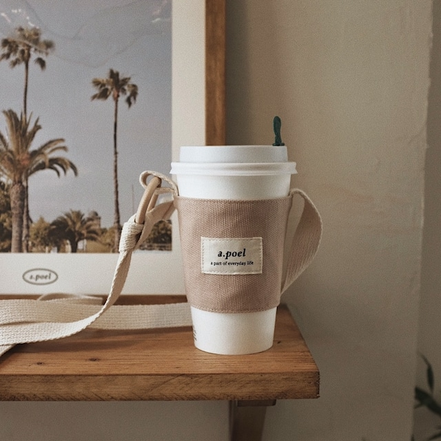 [a.poel] Strap drink bag