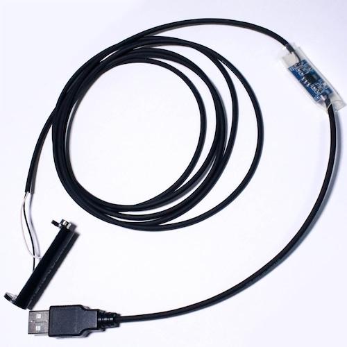 単3電池×1本用USBケーブル 2m [AABAT-USB015-2m]