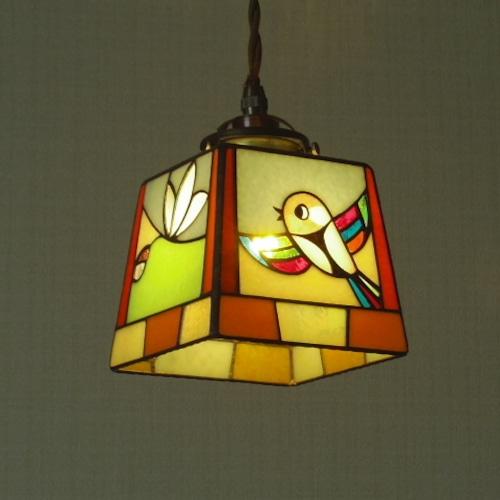 ペンダントランプ「 唄う鳥」3