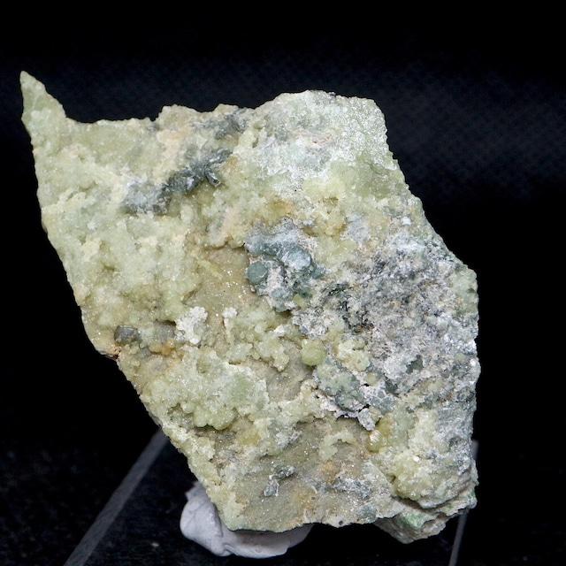 クリノクロア + デマントイド ガーネット 灰鉄柘榴石 原石 18,6g AND082 鉱物 標本 原石 天然石