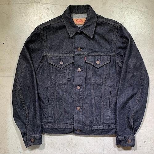 80's ~ Levi's 70506-0259 リーバイス ブラックデニムジャケット ミントコンディション トラッカージャケット 美品 38R USA製 美品 レア 希少 ヴィンテージ BA-1558 RM1977H