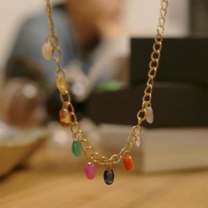 ナインストーンズ~ナヴァラトナ・9つの惑星の宝石【ペンダント(ゴールド18K)】