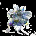 Stardust Brooch (スターダストブローチ)EMU-019-18 ブルーロータス