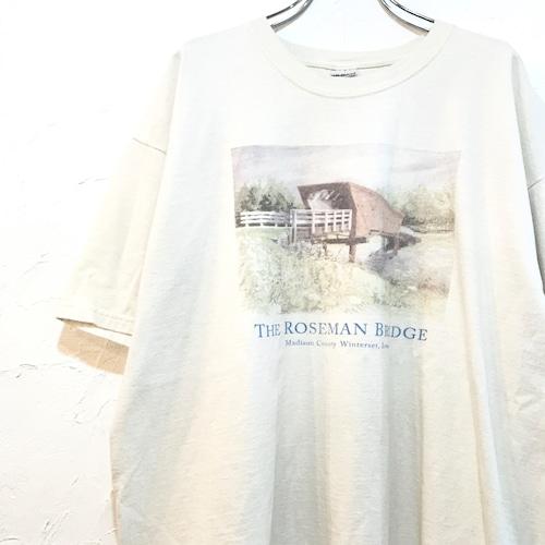 【USED】マディソン郡の橋 プリント ムービー Tシャツ