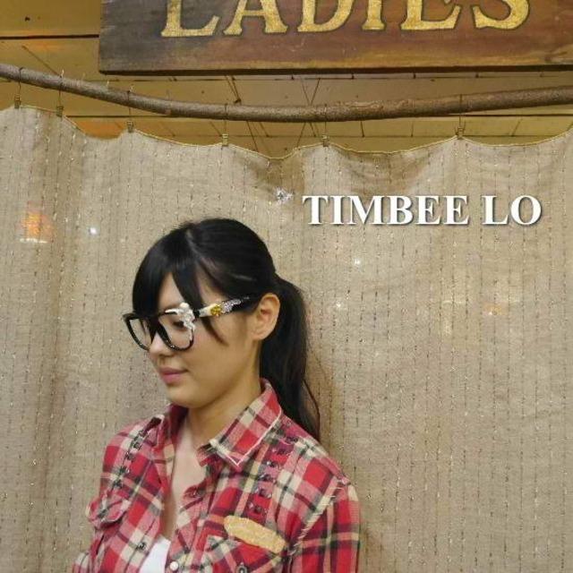 TIMBEE LO Hong Kong 天使のメガネ ブラック