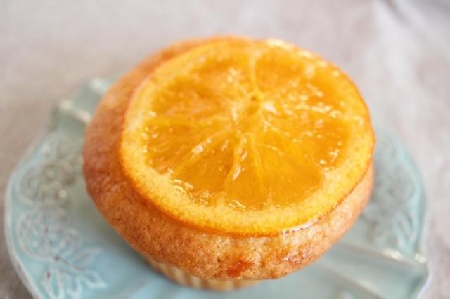 オレンジピールマフィン