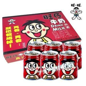 【常温便】旺旺牛奶 (罐装)甘い牛乳