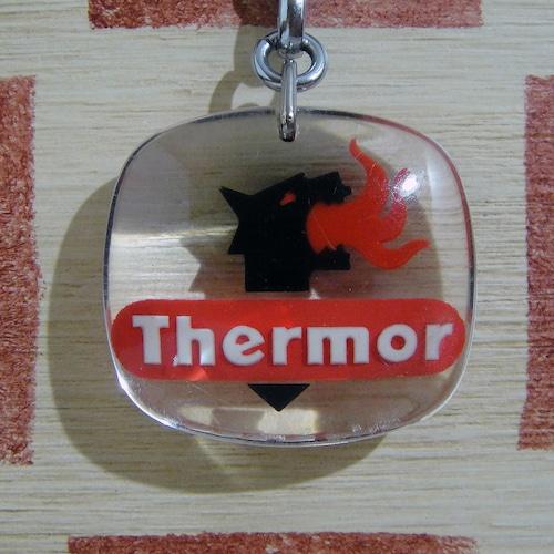 フランス 電気暖房メーカーThermor[サーモ]企業ロゴマーク広告ブルボンキーホルダー