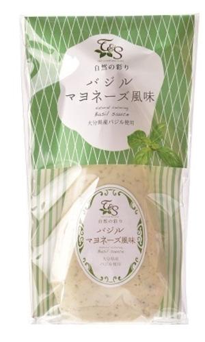 自然の彩り バジルマヨネーズ風味 150g
