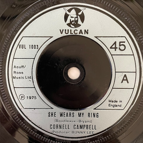Cornell Campbell - She Wears My Ring【7-20792】