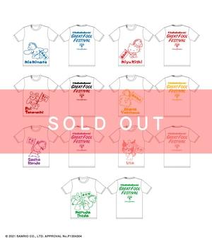 【完売しました】【サンリオコラボ】大馬鹿者祭 メンバーTシャツ【BA155】