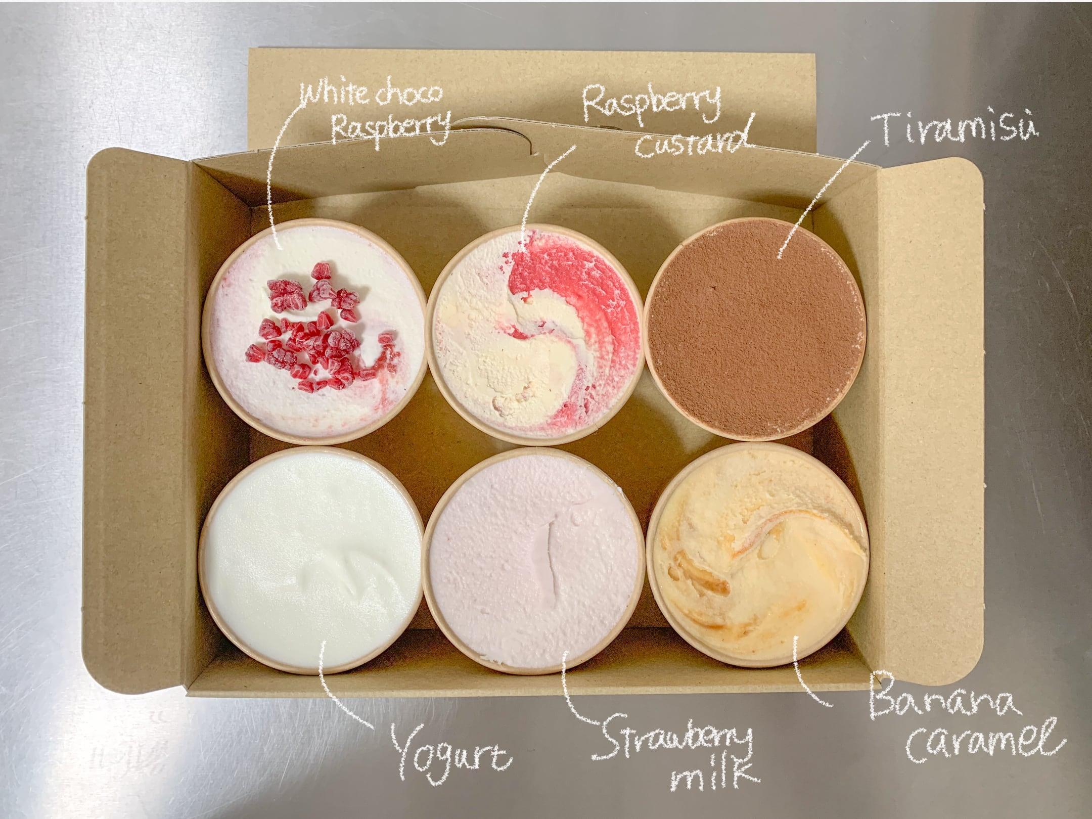 Ice cream box 3月便✈︎