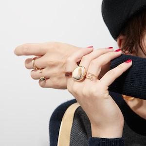 SET ITEMS || 【予約商品】 LISA'S AUTUMN HAS COME SET (RING SET + EARRINGS) by LISA BAYNE || 6 ITEMS || MIX || CSEB0904D