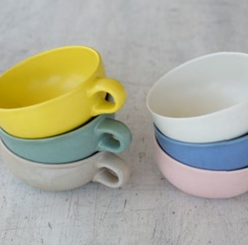 スープカップ&ボールセット PALOURDE BLUE