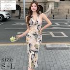 No.1069 きれいめワンピース 韓国ワンピース 大人可愛いワンピース タイトワンピース 花柄ワンピース