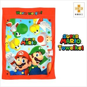 任天堂(Nintendo) スーパーマリオ お昼寝ケット マリオスターズ サイズ/(約)85×115cm タオルケット 制菌加工