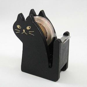 黒猫テープカッター(C-1-021)