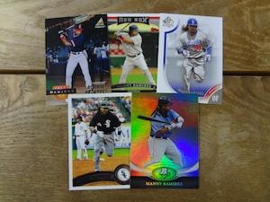 マニー・ラミレス 5枚セット 1994~2011 MLB