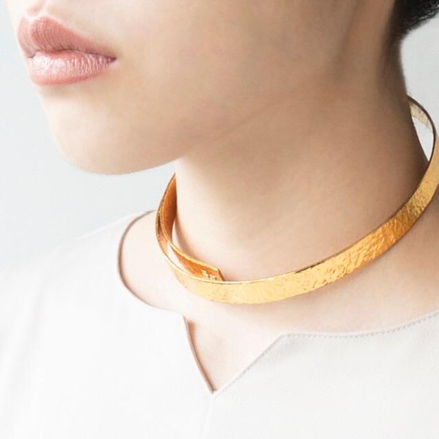 《ネックレス》TIN BREATH 10×400 Gold